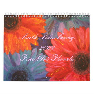 2009 Fine Art Florals Calendar