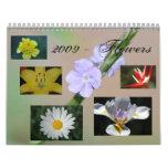 2009 - Flowers Calendar