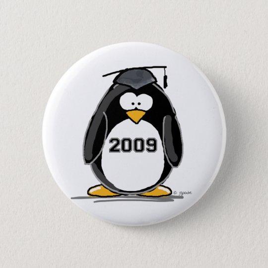 2009 Graduate Penguin Button