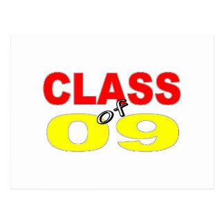 2009 GRADUATION CLASS OF 2009 POSTCARD