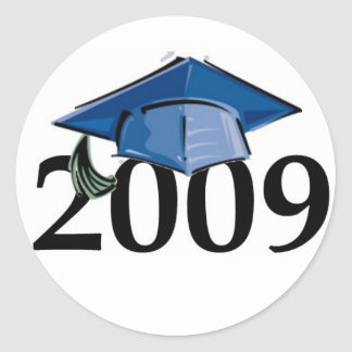 2009 Graduation sticker seal