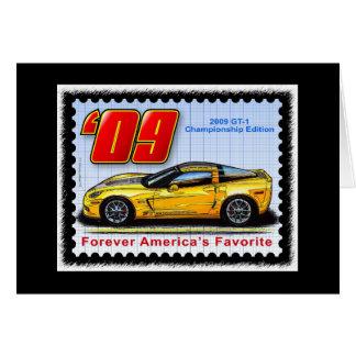 2009 GT1 Championship Corvette Card