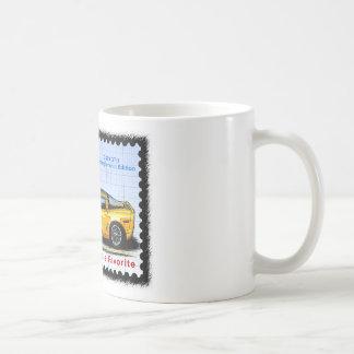 2009 GT1 Championship Corvette Coffee Mug