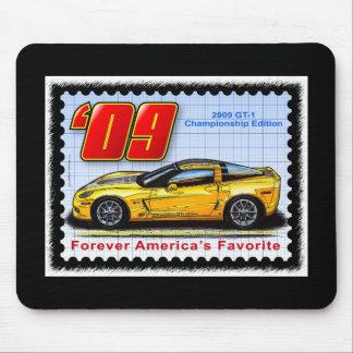 2009 GT1 Championship Corvette Mouse Pad