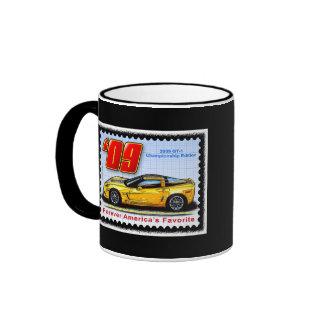 2009 GT1 Championship Corvette Ringer Mug