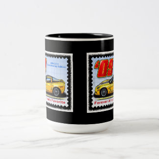 2009 GT1 Championship Corvette Two-Tone Coffee Mug