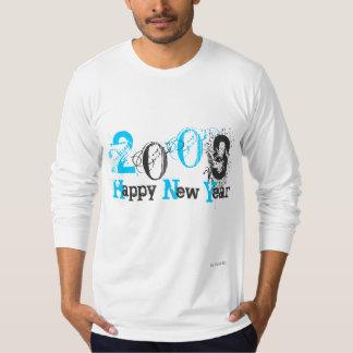 2009 Happy New Year- Customized  by iLuvit.Biz T-Shirt