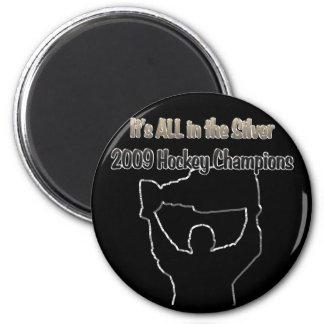 2009 Hockey Champions copy 2 Inch Round Magnet