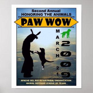 """2009 """"honrando posters de la pata wow de los anima"""