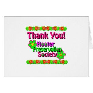 2009 HPS thank you card