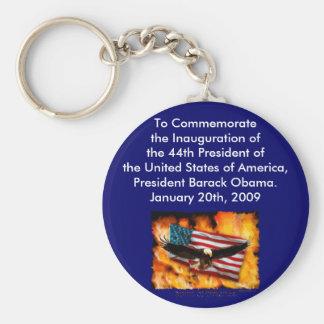 2009 Inauguration Commemorative Collection Key Chain