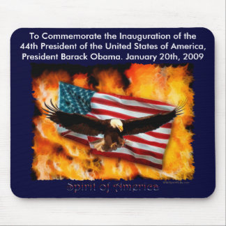 2009 Inauguration Commemorative Collection Mouse Pad