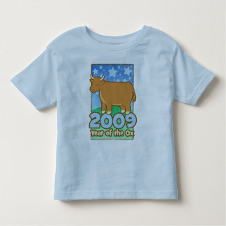 2009 Kids Year of Ox Toddler Ringer T-Shirt