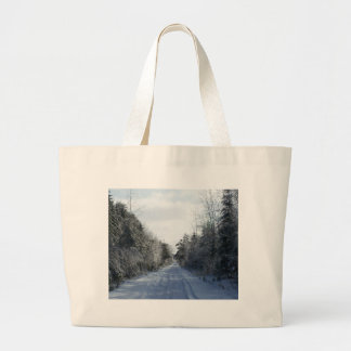 2009_Maine_Winter_20 Large Tote Bag