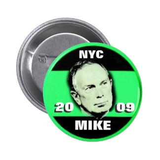 2009 Mayor Bloomberg Pin