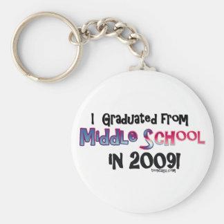 2009 Middle School Graduate Keychain