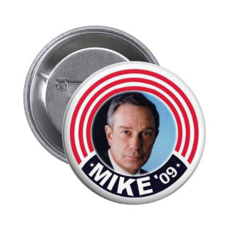 2009 Mike Bloomberg Mayor button