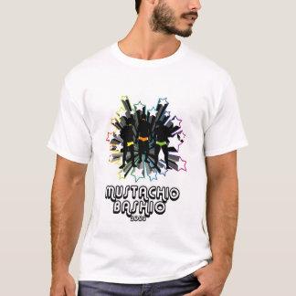 2009 Mustachio Bashio White Tshirt