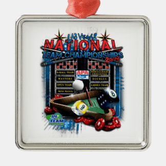 2009 National Team Championships Metal Ornament