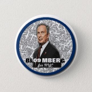 2009 NY Mayor Mike Bloomberg Pin