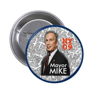 2009 NY Mayor MIKE pin