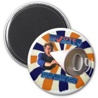 2009 NY Mayor Rev Billy magnet