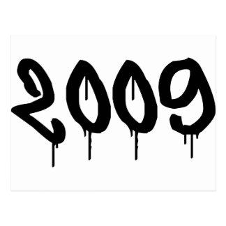 2009 POSTCARD