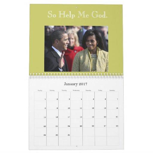 2009 Presidential Calendar