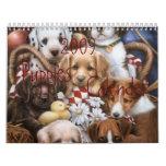 2009 Puppies Calender Calendars