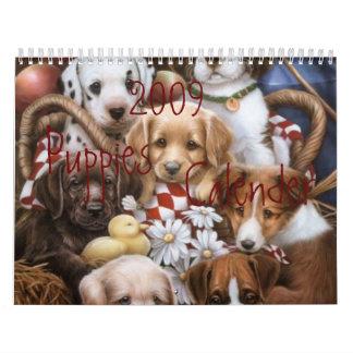 2009 Puppies Calender Calendar
