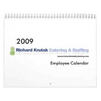 2009 RKC S Employee Calendar