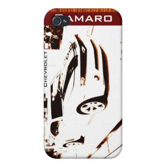 """© 2009 S.J. de """"Camaro descolorado"""" iPhone 4/4S Fundas"""