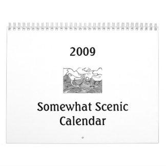 2009 Somewhat Scenic Calendar