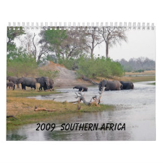 2009 Southern Africa - Customized Calendar