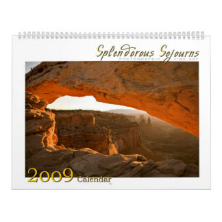 2009 Splendorous Sojourns Calendar