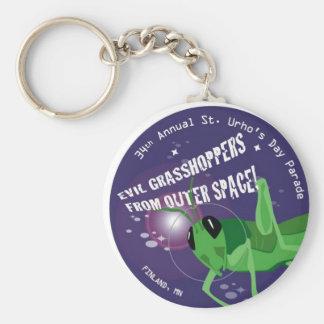 2009 St. Urho's Day Key Chain