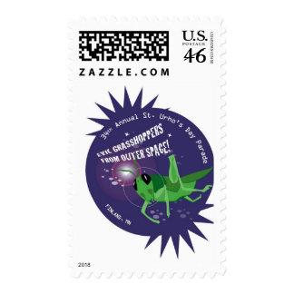 2009 St. Urho's Day Stamp