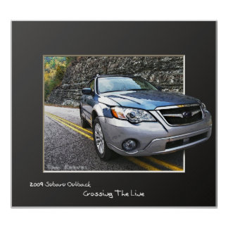 2009 Subaru Outback Poster