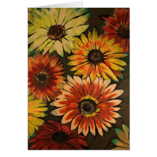 2009_Sunflowers Greeting Card