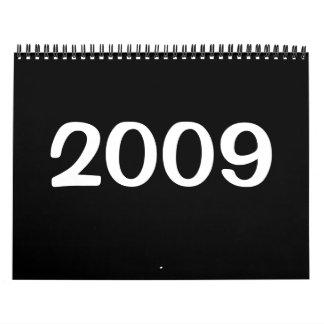 2009 sunset calendar