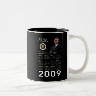 2009 taza del recuerdo - inauguración de Obama