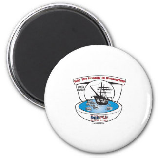 2009 Tea Party 2 Inch Round Magnet