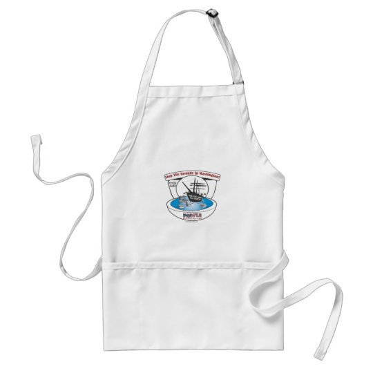 2009 Tea Party Adult Apron