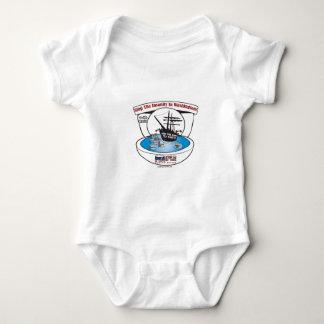 2009 Tea Party Baby Bodysuit