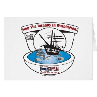 2009 Tea Party Card