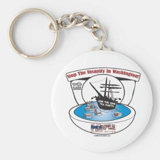 2009 Tea Party Keychain