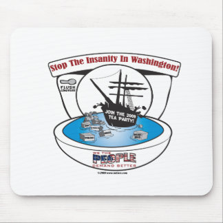 2009 Tea Party Mouse Pad