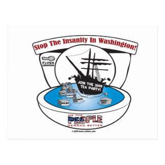 2009 Tea Party Postcard