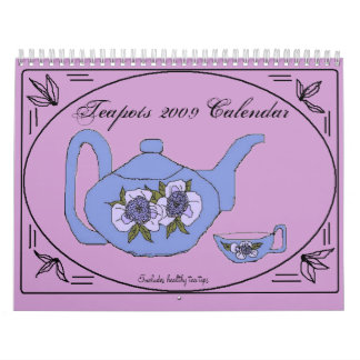2009 Teapots - Customized Calendar