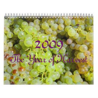 2009, The Year of Harvest, Scripture Calendar